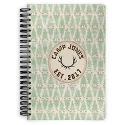 Deer Spiral Notebook (Personalized)