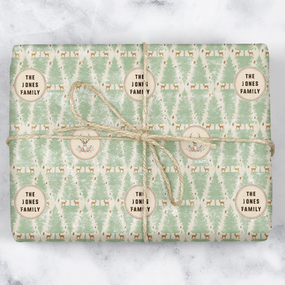 Deer Wrapping Paper (Personalized)