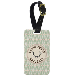 Deer Aluminum Luggage Tag (Personalized)