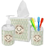 Deer Acrylic Bathroom Accessories Set w/ Name or Text