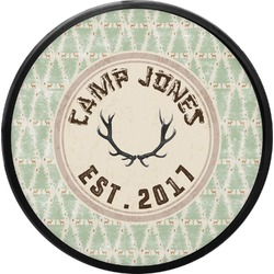 Deer Round Trailer Hitch Cover (Personalized)