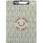 Deer Clipboard (Personalized)