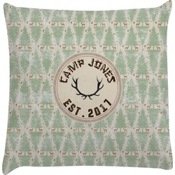 Deer Decorative Pillow Case (Personalized)