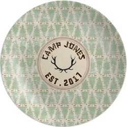 Deer Melamine Plate (Personalized)