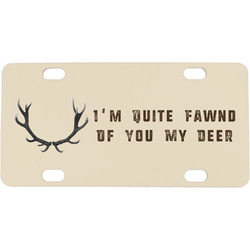Deer Mini / Bicycle License Plate (Personalized)