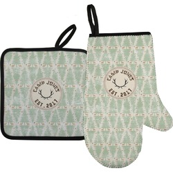 Deer Oven Mitt & Pot Holder (Personalized)