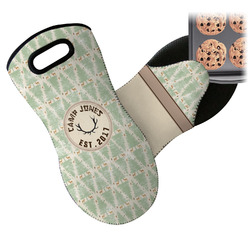 Deer Neoprene Oven Mitt (Personalized)