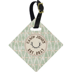 Deer Diamond Luggage Tag (Personalized)