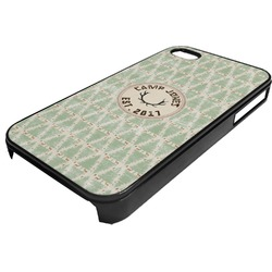 Deer Plastic 4/4S iPhone Case (Personalized)
