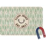 Deer Rectangular Fridge Magnet (Personalized)
