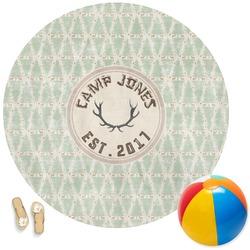 Deer Round Beach Towel (Personalized)