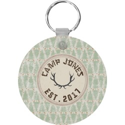 Deer Round Keychain (Personalized)