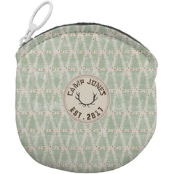 Deer Round Coin Purse (Personalized)