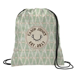 Deer Drawstring Backpack (Personalized)