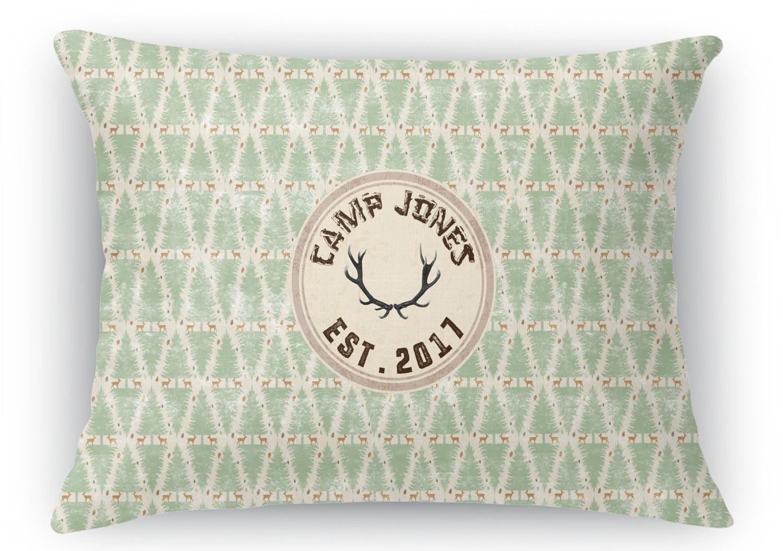 Rectangular Throw Pillow Dimensions : Deer Rectangular Throw Pillow - 18