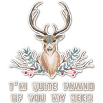 Deer Graphic Decal - Custom Sizes (Personalized)