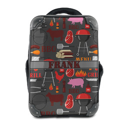 Barbeque Hard Shell Backpack (Personalized)