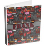 Barbeque 3-Ring Binder (Personalized)