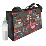Barbeque Diaper Bag w/ Name or Text