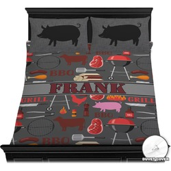 Barbeque Duvet Cover Set (Personalized)