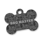 Barbeque Bone Shaped Dog ID Tag (Personalized)