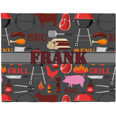 Barbeque Placemat (Fabric) (Personalized)
