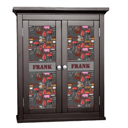 Barbeque Cabinet Decal - Custom Size (Personalized)