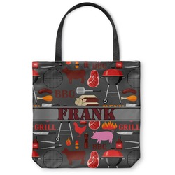 Barbeque Canvas Tote Bag (Personalized)