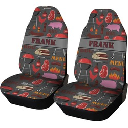 Barbeque Car Seat Covers (Set of Two) (Personalized)