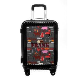 Barbeque Carry On Hard Shell Suitcase (Personalized)