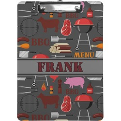 Barbeque Clipboard (Personalized)