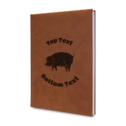 Barbeque Leatherette Journal (Personalized)