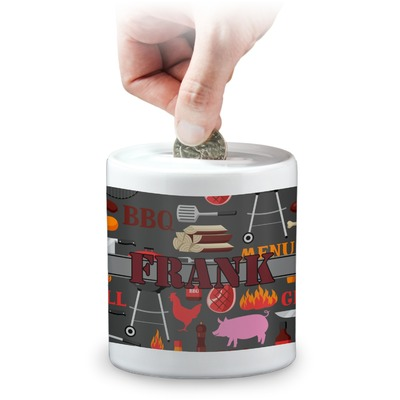 Barbeque Coin Bank (Personalized)