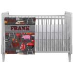 Barbeque Crib Comforter / Quilt (Personalized)