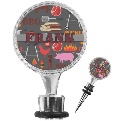 Barbeque Wine Bottle Stopper (Personalized)