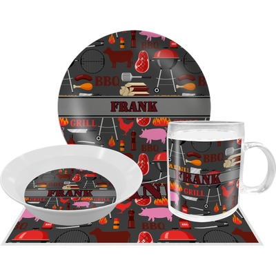 Barbeque Dinner Set - 4 Pc (Personalized)