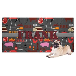 Barbeque Dog Towel (Personalized)
