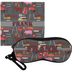 Barbeque Eyeglass Case & Cloth (Personalized)