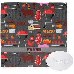 Barbeque Washcloth (Personalized)