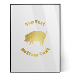Barbeque Foil Print (Personalized)