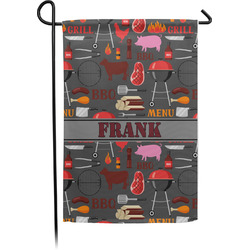 Barbeque Garden Flag - Single or Double Sided (Personalized)