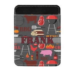 Barbeque Genuine Leather Money Clip (Personalized)