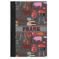 Barbeque Genuine Leather Passport Cover (Personalized)