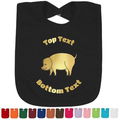 Barbeque Foil Baby Bibs (Select Foil Color) (Personalized)