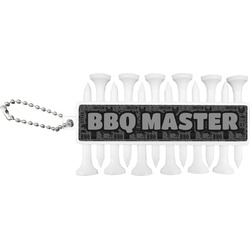 Barbeque Golf Tees & Ball Markers Set (Personalized)