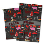 Barbeque Golf Towel - Full Print w/ Name or Text