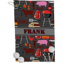 Barbeque Golf Towel - Full Print (Personalized)