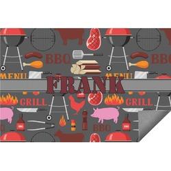 Barbeque Indoor / Outdoor Rug (Personalized)