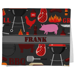 Barbeque Kitchen Towel - Full Print (Personalized)