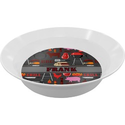 Barbeque Melamine Bowl (Personalized)